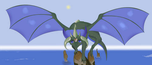 Amber and dragon