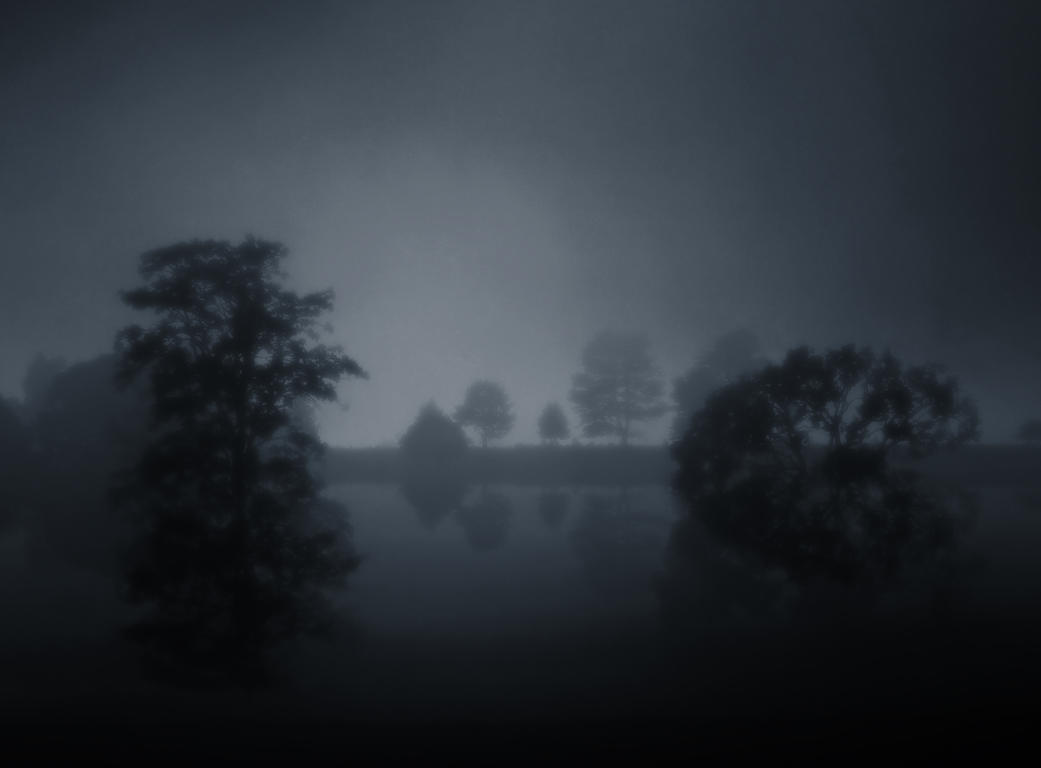 Fog Lake IIII by BBs-Brushes