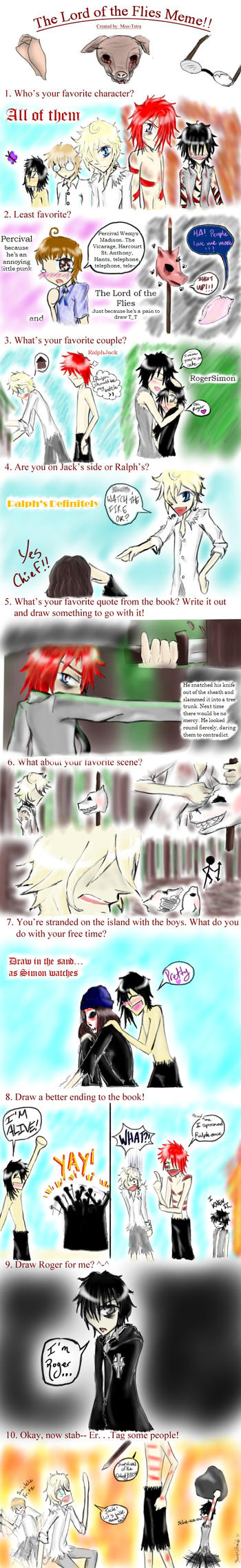 Lord of the Flies Meme by vamp666akuma