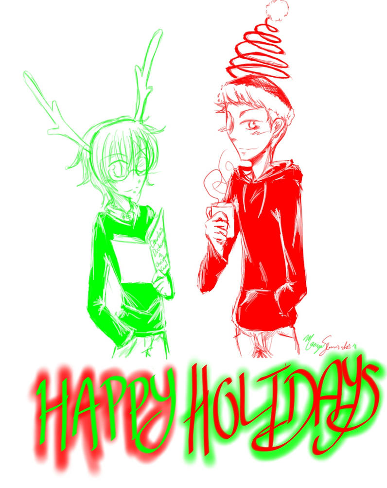Happy Holidays by vamp666akuma