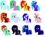 Free mlp Adoptables [CLOSED]