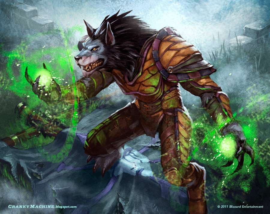 List Of Synonyms And Antonyms Of The Word Worgen Druid