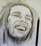 Quick Sketch of Bob Marley