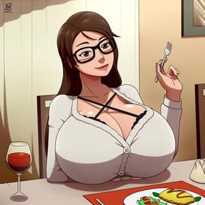 Filling dinner