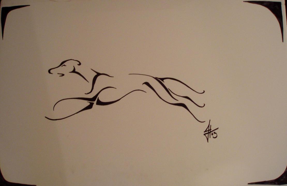 Tribal-Tattoos greyhound_tribal_tattoo