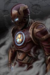 Steampunk Iron Man by shauncharles