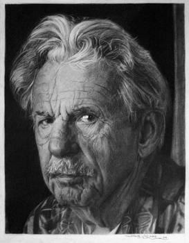 Chairoscuro Charcoal Portrait