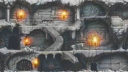 Catacombs Background
