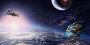 Space Triptych