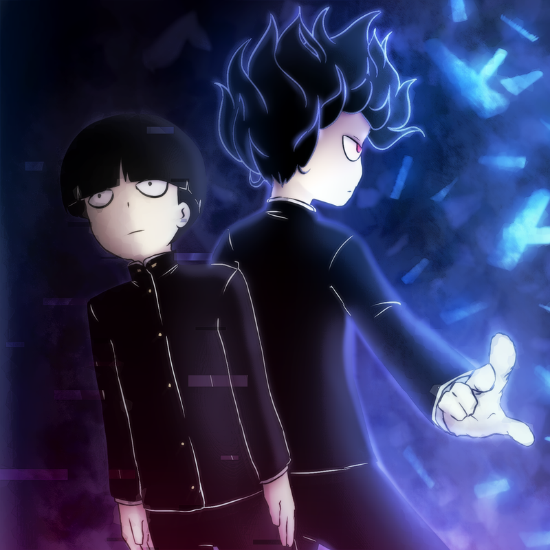 Mob Psycho 100 by LENK64