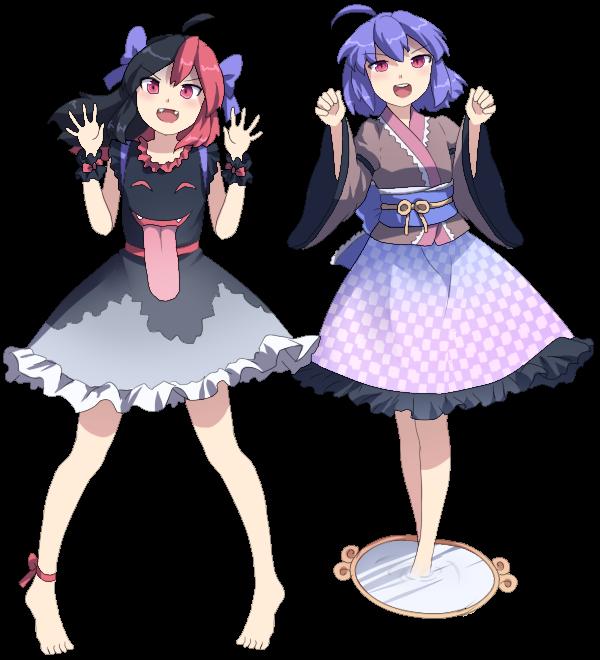Wyra Sonohoka and Sasami Demomira by LENK64