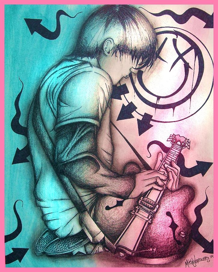 Tom Delonge of Blink 182 by MWnorowski