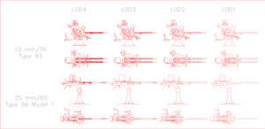 Japan Naval Guns by SoloA2