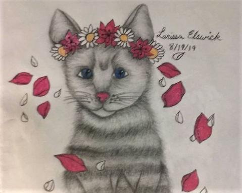 Flower Crown Kittie