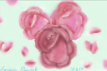 Roses-Digital Art Practice