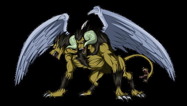 Yu Gi Oh Chimera the flying mythical beast
