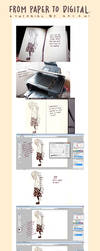 Tutorial: From Paper to Digital by Kaiami