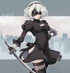 NieR Automata - 2B