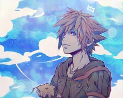 Kingdom Hearts - Sora by 7Repose