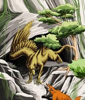 Protective Gryphon Kirirban by VaraAnn