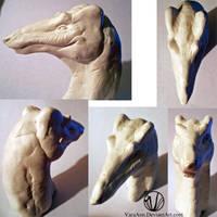 Vinvorus sculpture by VaraAnn