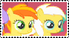 PeachyDaze Stamp by srbarker