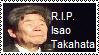 R.I.P. Isao Takahata by srbarker