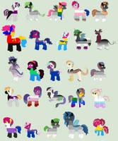 Barkerverse Sexualities/Identities by srbarker