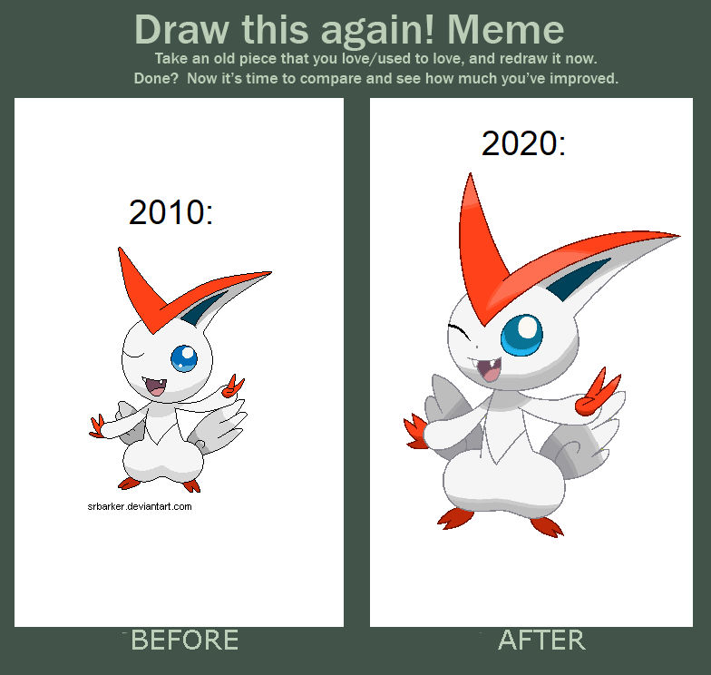Draw This Again: Shiny Victini