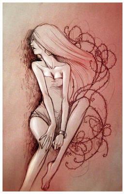 - red rose -