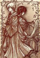 - sirius + lupin - by aramaki
