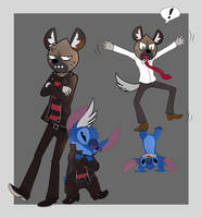 Haida and Stitch by Lullaby-of-the-Lost