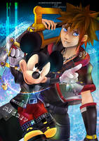 Sora and Mickey by Lullaby-of-the-Lost