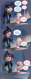 What's with this kid? (IZ AU) by Lullaby-of-the-Lost