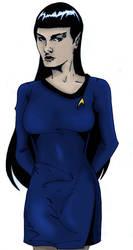 Gender Swap Spock by PinkLetter