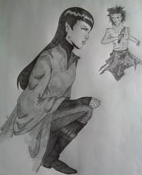 Gender Swap Spock - Pandora by PinkLetter