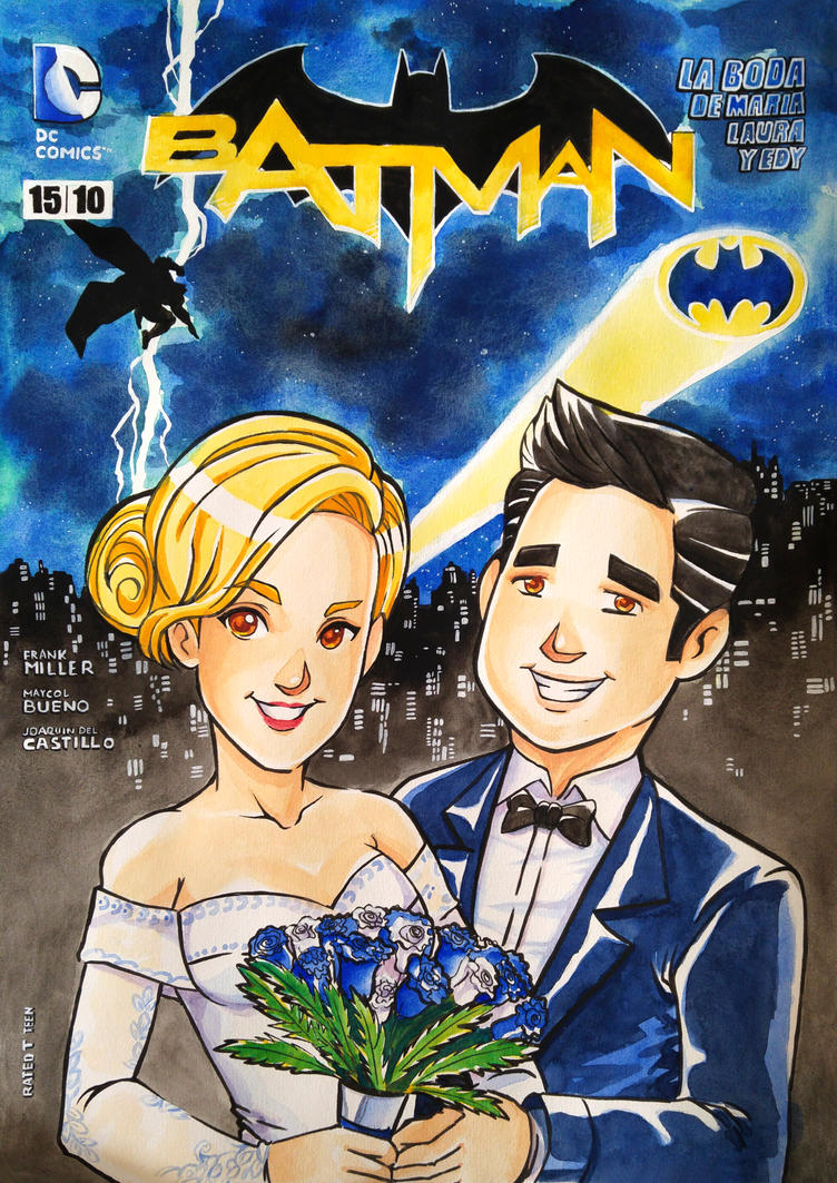 Bat wedding by ElCanCosmico
