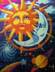 Sun and Moon by Schollian