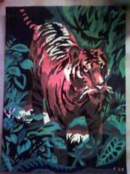 Tiger by Schollian