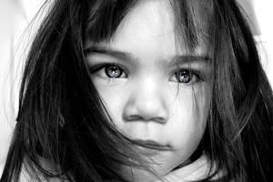 Sad child by Forsword
