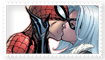 Spidey+Cat Stamp by catz1313