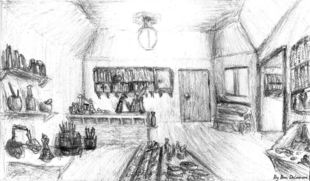 #39: Shop doodle by Ben-Delamore