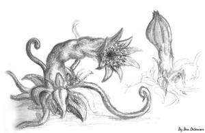 #51: Carnivorous Plant by Ben-Delamore