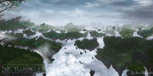 Skyworld Environment Concept Art