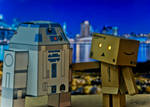 Danbo with R2D2