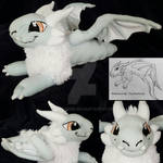 Dragon Plush (Art trade with TinyMythicals)