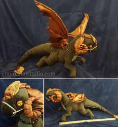 Fen dragon by grayREM