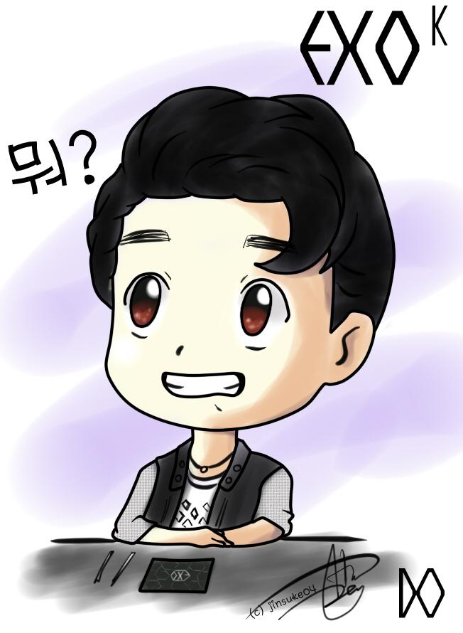 Gambar Exo Fansign Event Jinsuke04 Deviantart Foto Animasi Sapawarga