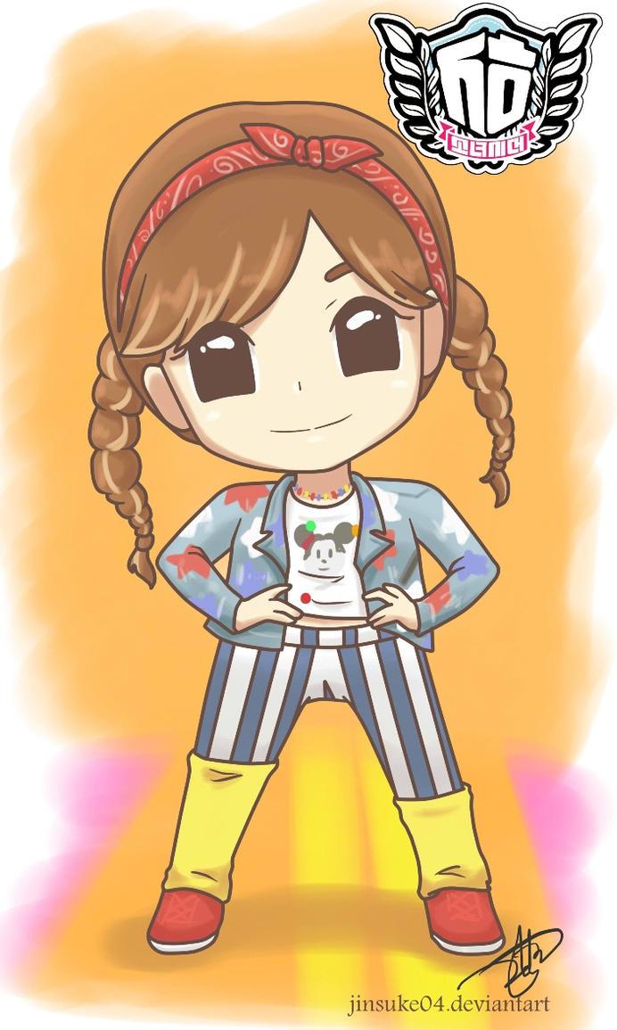 SeoHyun I Got A Boy Chibi by jinsuke04