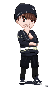 EXO Tao Growl Pixel Art by jinsuke04